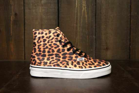 vans authentic hi women spring 2013 leopard