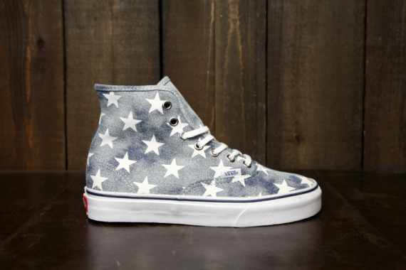 vans authentic hi women spring 2013 stars